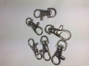 Karabiner mit Wirbel Schlüsselanhänger Karabinerhaken