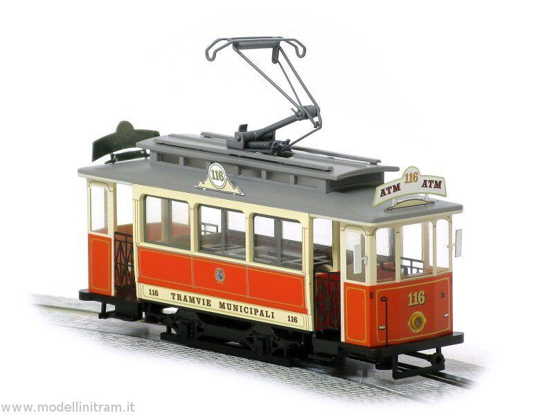 Tram Tram Tram di Torino H0 1:87 - Leopold Halling - Stra enbahn - Streetcar - Tramway f48247