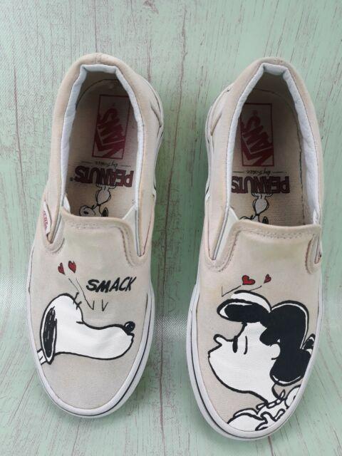 VANS X Peanuts Slip on Snoopy Lucy
