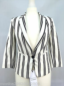 latest discount new appearance so cheap BERSHKA BLAZER WOMENS STRIPE JACKET SIZE S M | eBay