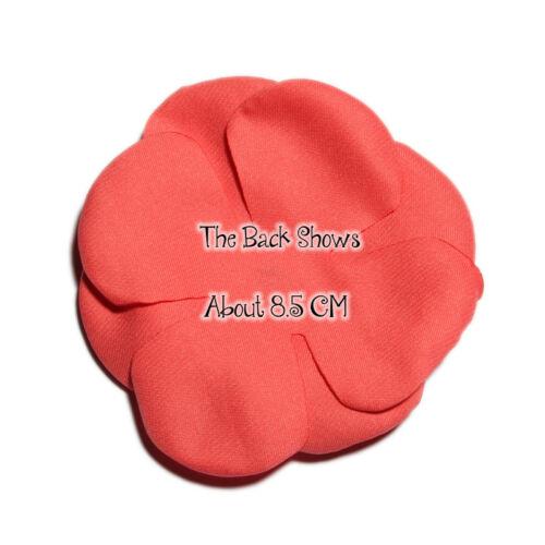 30p 8.5cm Burnt Edge Fabric Chiffon Hair Flowers For Hair Clips For Headbands