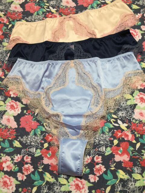 Victorias Secret S Red Tan Garter Belt Panty Tong Floral Lace Lingerie Sleepwear