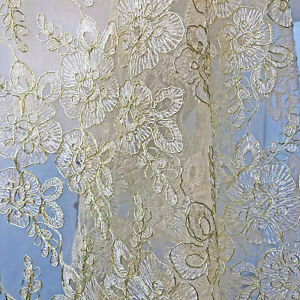 Gold-Embroidery-Bridal-Dress-Lace-Fabric-Corded-Blossom-Costume-Gown-Fabric-0-5Y