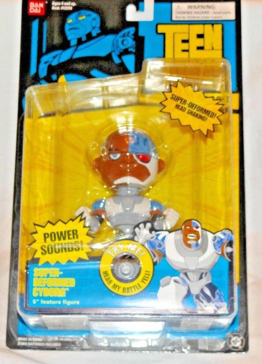 DC Comics Teen Titans Cyborg Bandai Figure Sounds
