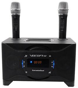 vocopro karaokedual tablet smart tv karaoke machine system w dual wireless mics 692868383526 ebay. Black Bedroom Furniture Sets. Home Design Ideas