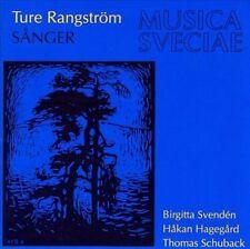 Ture Rangstrom: Sanger / Songs, New Music