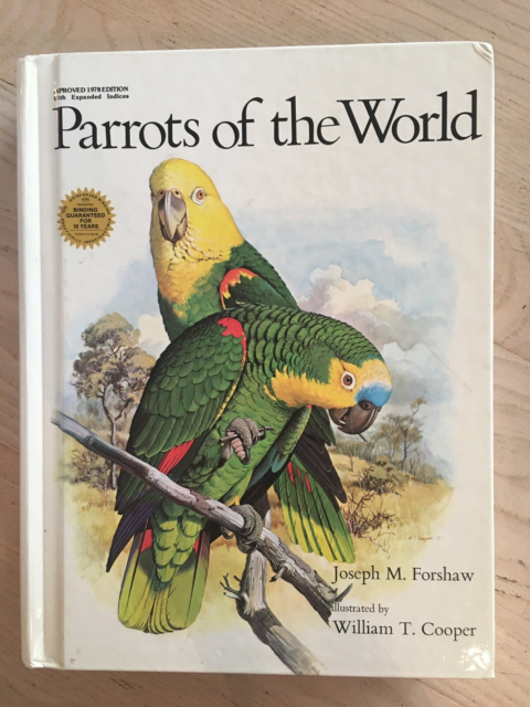 Parrots of the World , Joseph M Forshaw, emne: dyr, Fin og…