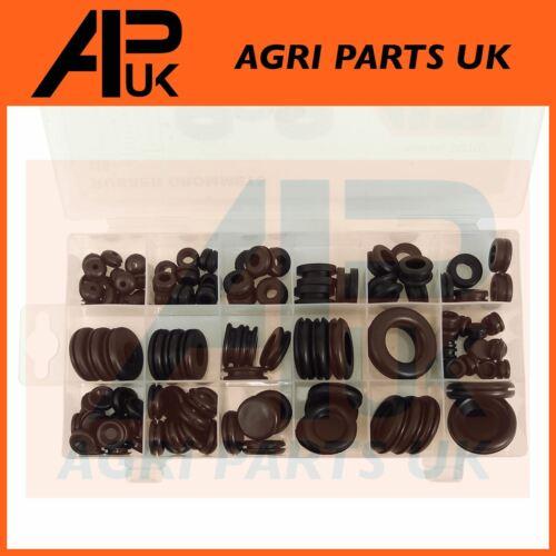 125pc Assorted Rubber Grommets Grommits hole metal panels Car Van Tractor Garage
