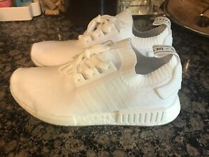 official photos ef7fc 80fce Details about Adidas nmd Triple White Size 11.5