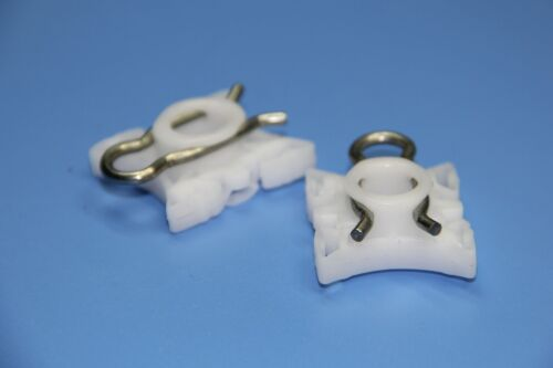 "KIA CAR WINDOW REGULATOR SLIDER HOLDER CLIPS ""COLOUR WHITE"""