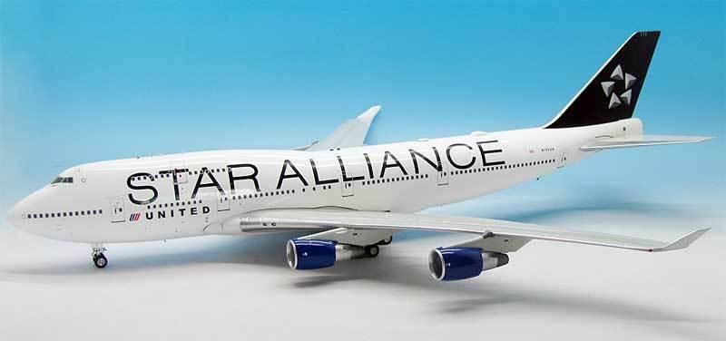 Jet-X Vl2015005 1 200 United Airlines Boeing 747-400 N121ua N121ua N121ua Star Alliance a9c848