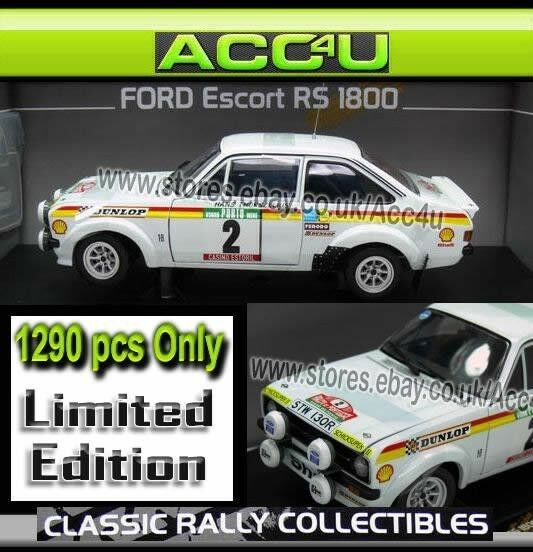 Ford escort rs - 18 2. rallye de portugal 1977 1,18 limited edition modell - auto