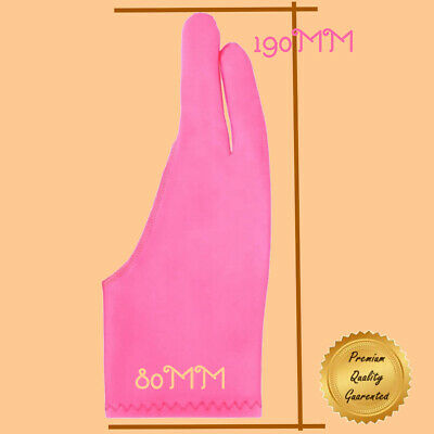 2 FINGER PROFESSIONAL ARTIST BLUE GLOVE FOR DRAWING /& SKETCHING ON TABLET//SCREEN