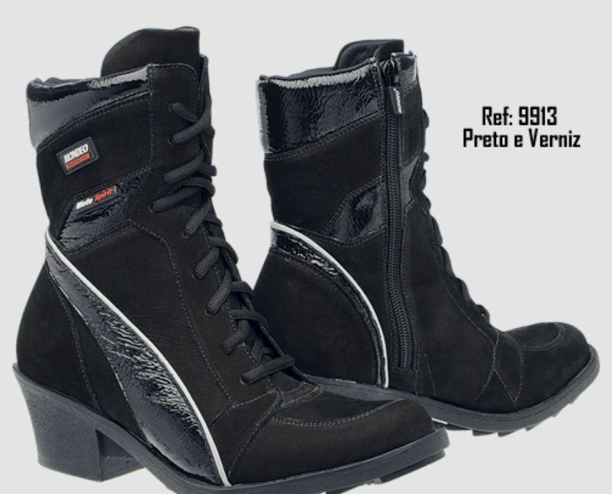 MONDEO SPIRIT FASHION Motorcycle Boots Size 7.5 (9913)