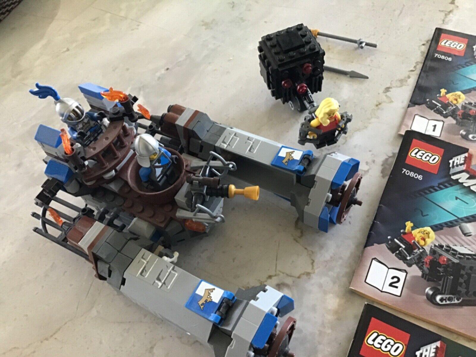 Lego The Lego Movie Castle Cavalry 70806 Retired Building Toy Set Lego