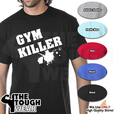 LIFT LIKE HELL Gym Rabbit T Shirt 6 colors Workout Bodybuilding Fitness D278