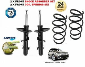 FOR-BMW-X3-E83-XDRIVE-2004-gt-2-x-FRONT-SHOCK-ABSORBER-SET-2x-COIL-SPRINGS-KIT