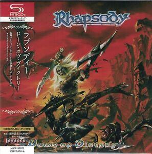 RHAPSODY-Dawn-Of-Victory-Japan-Mini-LP-SHM-CD-Luca-Turilli