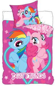 Lenzuola My Little Pony.Dettagli Su My Little Pony Lenzuola Unicorno Pony Biancheria Letto Bambini 140 X 200 Cm