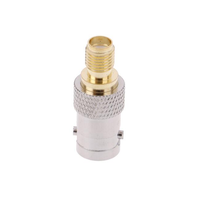 Bnc female plug to sma female jack antenna adapter copper connector converter XB