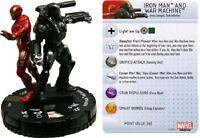 Marvel Heroclix Invincible Iron Man - IRON MAN & WAR MACHINE #043 Super Rare SR