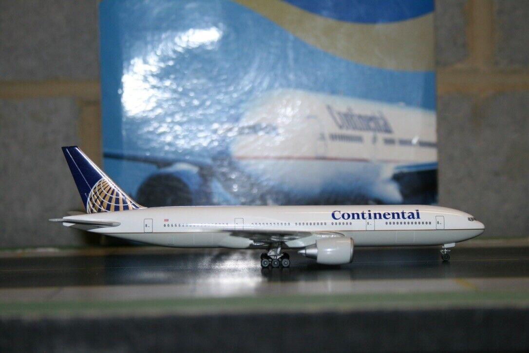 Aero Le Plane 1 400 Continental Airlines Boeing 777-200  Corporate  Model Plane