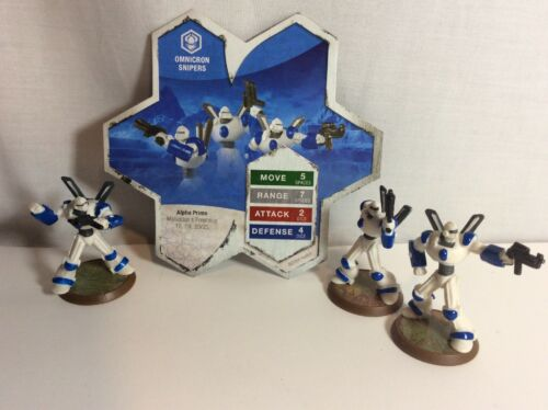 Heroscape Omnicron Snipers Malliddon's Prophecy
