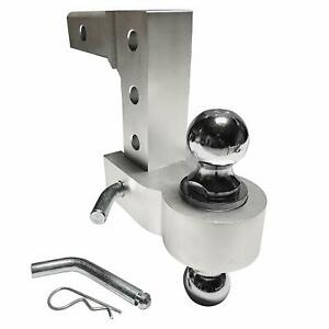 Professional-EZ-Travel-Collection-Dual-Ball-Aluminum-Adjustable-Drop-Hitch
