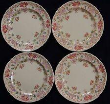 / Belle série de 4 assiettes LONGCHAMP service/modèle Pâquerettes (anciennes)