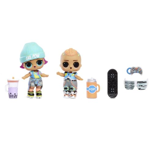 L.O.L Surprise Surprises and 2 Exclusives Dolls New Clubhouse Playset with 40