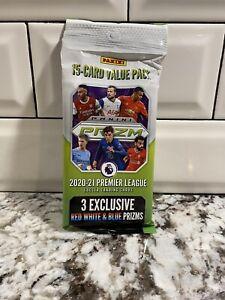 Panini PRIZM 2020-21 Premier League EPL Soccer Cello 15 Cards