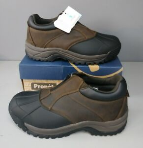 Mens Blizzard Sz Boots New Ankle 3m Zip M3786 13ew Marrone nero Propet Thinsulate 886374149763 x4gnUwq05