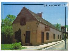 HOSPITAL MILITAR OLD BUILDING IN HISTORIC ST. AUGUSTINE FLORIDA  POSTCARD # SA6