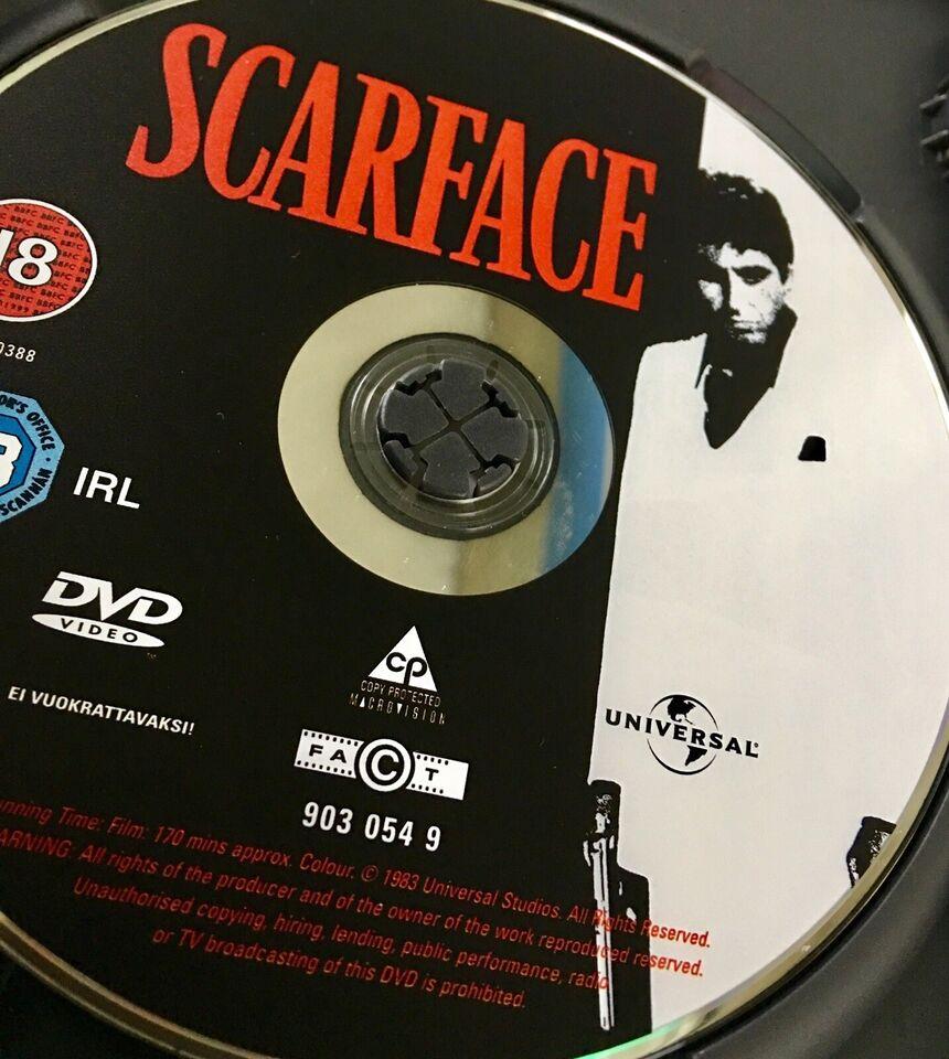 Scarface, DVD, drama