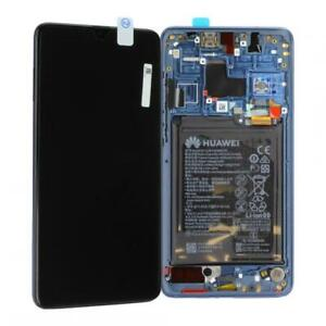 Original-Huawei-Mate-20-ecran-LCD-Touch-Avec-Cadre-Batterie-Bleu-Blue