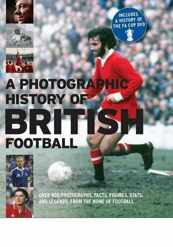 1 of 1 - The History of British Football Book and DVD Gift Folder By Parragon