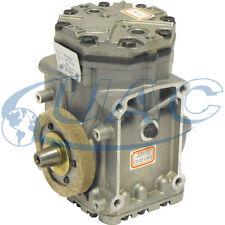 New York style Flange top  A/C Compressor, EF210L. 10 cu inch
