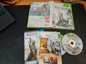 Assassin creed 3 - XBOX 360 - MICROSOFT  - XBOX X - XBOX ONE (RC)