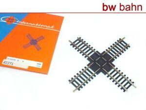Roco-H0-42271-4556-Standard-Gleis-Kreuzung-90-Grad-2-5-mm-Neu