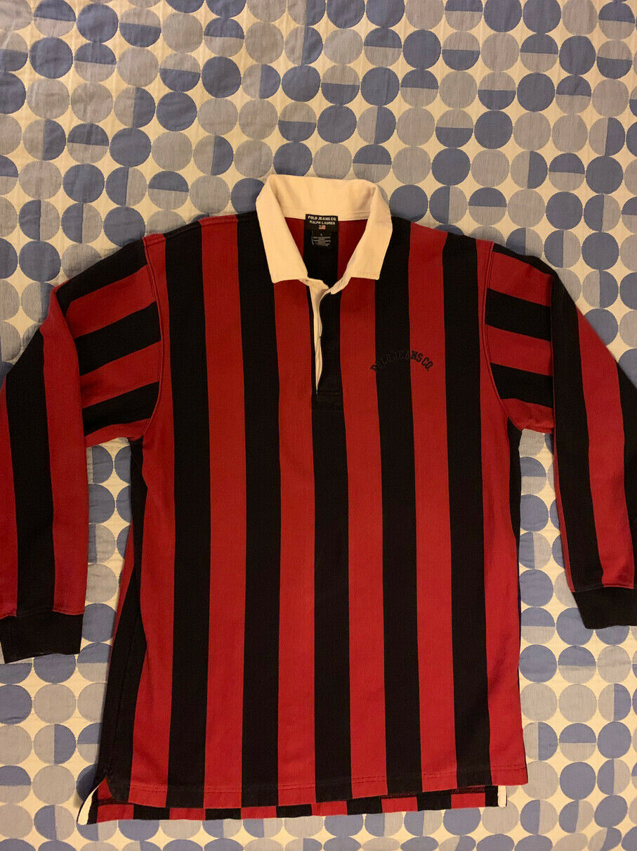Ralph Lauren Polo Jeans Co. Rugby Jersey Shirt Large