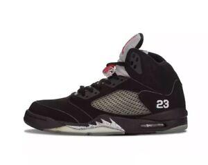 daa48e75515616 Air Jordan 5 V 2007 Black Metallic 136027-004 VNDS Size 11 2006 3 4 ...