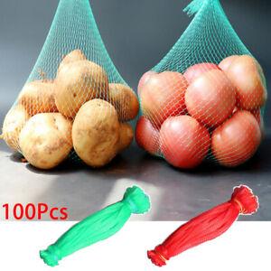 100Pcs-String-Mesh-Net-Handbag-Grocery-Shopper-Totes-Storage-Shopping-Bags-34US