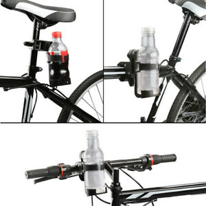 360° Rotation Bike Bicycle Bottle Cage Handlebar Mount Drink Water Cup Holder A1