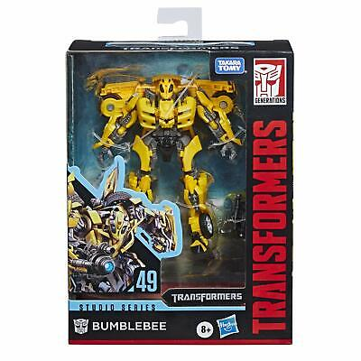 NEW US Hasbro Transformers Studio Series 49 Bumblebee Deluxe Class Action Figure
