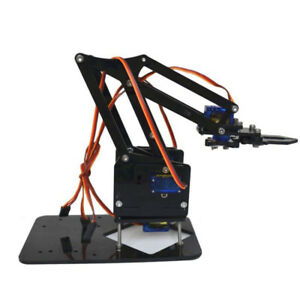 Mini Industrial Robotic Arm Kit DIY Robot Toy Gifts DIY Kit