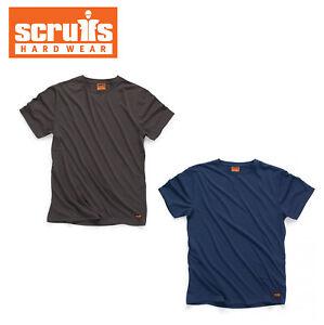 Scruffs T-Shirt Navy Graphite Top Work Small Medium Large XL T Shirt NEW 2019!
