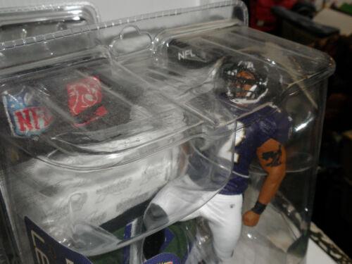 Ray Lewis Regular violet jersey NFL 26 FIGURINE MCFARLANE