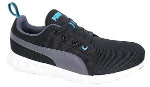 Puma Carson Runner Mens Trainers Running Shoes Black Asphalt 357482 ... 9a6767a73