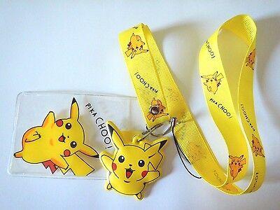 Pokemon Pikachu Kids Lanyard