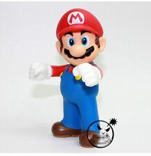 "4 Pcs Nintendo Super Mario Bros Brothers Toys PVC Action Figure 5"" 12cm"